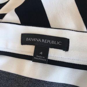 Banana Republic Skirts - Banana Republic Black & White Stripe Pencil Skirt